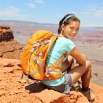 Grand Canyon hiker portrait. — Stock Photo