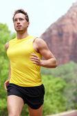 Running man — Stock Photo
