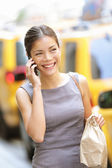 Businesswoman in New York City — Stock Photo
