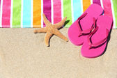 тропический пляж отпуск праздник путешествия концепция — Стоковое фото