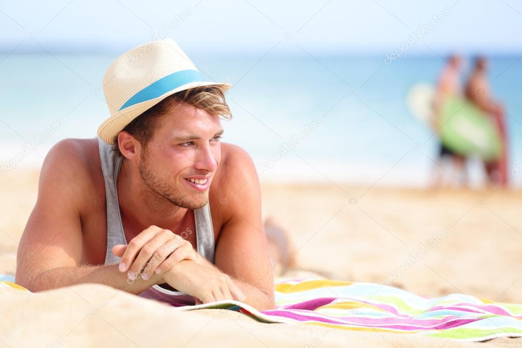 Фото мужиков на пляже