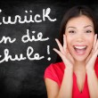 Zuruck in die Schule German student back to school — Stock Photo #28193805