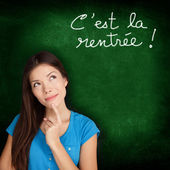 Cest la Rentree Scolaire - French back to school — Foto Stock
