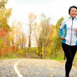 Mature Asian woman running active in her 50s — Stock Photo #29500217