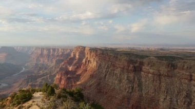 Grand Canyon and Colorado River Arizona — Stock Video