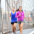 Running couple — Stock Photo #34123051