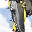 Crampons closeup — Foto Stock #34123133