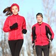Stock Photo: Healthy lifestyle winter running