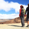 Young Couple Hiking — Stockfoto