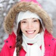 Portrait of winter woman — Stock Photo