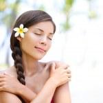Spa wellness beach beauty woman — Stock Photo #40836289