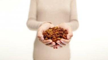 Golden berries - dried Inca berry ground cherry — Vidéo