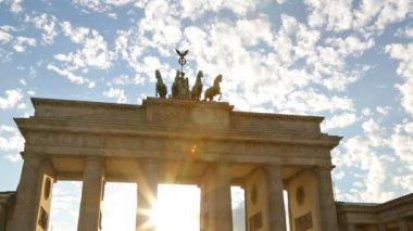 Berlin, Germany, Brandenburg Gate — Stock Video