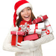 Christmas Presents woman — Stock Photo #44255267