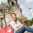 Tourist in Berlin, Germany on travel — Stock Photo
