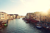Grand Canal, Venice, Italy - Canal Grande — Stock Photo