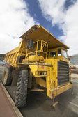 Dumper vrachtwagen — Stockfoto