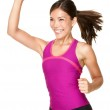 Aerobics zumba fitness woman — Stock Photo #21562759