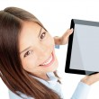 Tablet woman — Stock Photo #21563181