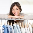 Stock Photo: Business owner - clothes store.