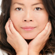 Middle aged asian woman beauty portrait — Stock Photo #21563437