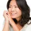 Mature middle aged Asian woman — Stock Photo