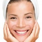 Spa beauty woman smiling — Stock Photo #21563559
