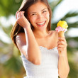 Ice cream girl — Stock Photo #21563951