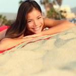 Beach vacation summer woman — Stock Photo