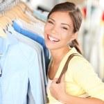 Happy shopping woman — Stock Photo #21564419