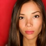 Asian beauty woman serious portrait — Stock Photo