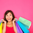Shopping woman holding shopping bags — Stock Photo #21565261