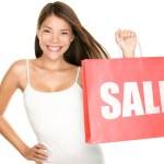 Shopping bags sale woman — Stock Photo #21568097