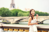Paris girl — Stock Photo