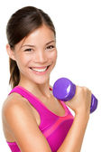Fitness sport girl — Stock Photo