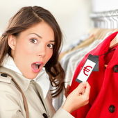 Expensive shopping prices — Stock Photo