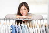 Business owner - clothes store. — Stock Photo