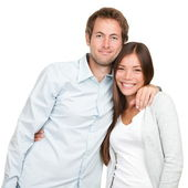 Happy young couple — Foto Stock