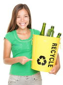 Recycler les fille — Photo