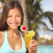 Stock Photo: Resort woman