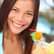 Tropical resort woman — Stock Photo #22926434
