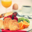 Breakfast tray — Stock Photo #22927238