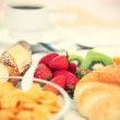 Continental breakfast — Stock Photo #22927248