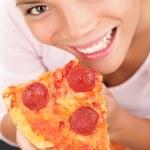 Pizza Woman — Stock Photo #22927518