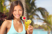 Resort woman — Stock Photo