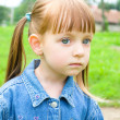 Portrait of a little girl — Stock Photo #23561815