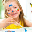 Child painting — Stock Photo #29420707