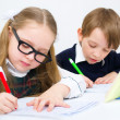 Stock Photo: Schoolchildren
