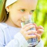 Child drinking water — Stock Photo #32004689