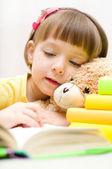 Dziecka, czytanie — Zdjęcie stockowe